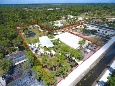 Loxahatchee Groves Single Family Home For Sale: 775 F Road