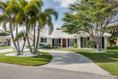Singer Island Single Family Home For Sale: 1140 Gulfstream Way