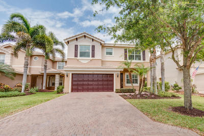 Boynton Beach Single Family Home For Sale: 8885 Morgan Landing Way