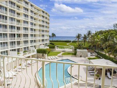 Palm Beach Rental Leased: 2774 S Ocean Boulevard #312