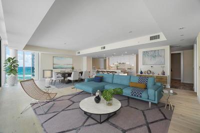Palm Beach Condo For Sale: 3550 S Ocean Boulevard #4d