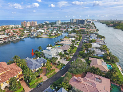 Broward County, Palm Beach County Single Family Home For Sale: 4313 Intracoastal Drive