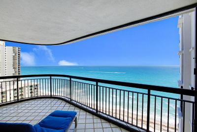 Singer Island Condo For Sale: 5380 Ocean Drive #17j