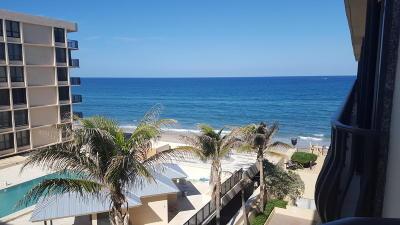 South Palm Beach Condo For Sale: 4000 S Ocean Boulevard #403