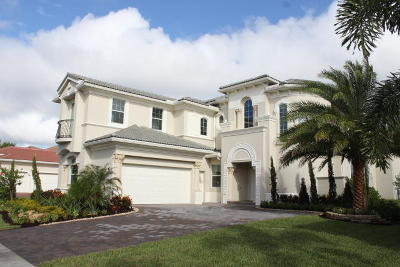 Jupiter Country Club Single Family Home For Sale: 147 Rosalia Court