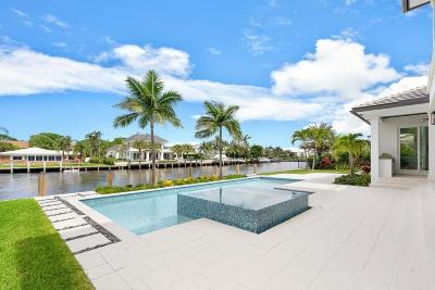 Ocean Ridge Single Family Home For Sale: 64 Spanish River Drive
