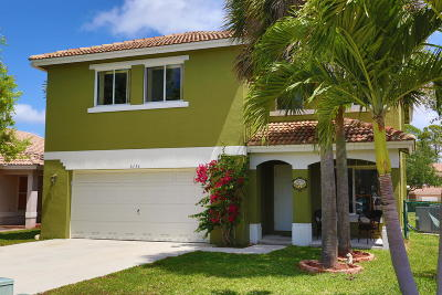 Lake Worth Single Family Home For Sale: 6136 Willoughby Circle