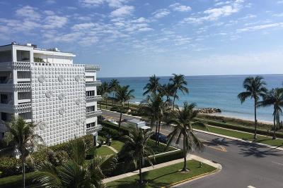 Palm Beach Condo For Sale: 330 S Ocean Boulevard #5e