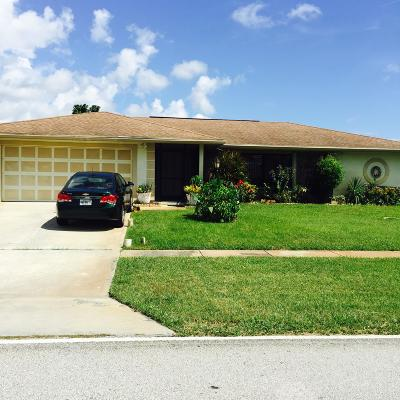 Riviera Beach Single Family Home Contingent: 2560 Canterbury Drive