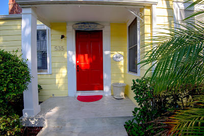 Lake Worth Single Family Home For Sale: 535 S Palmway