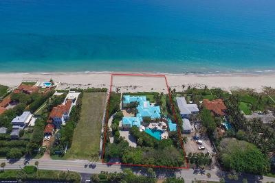 Broward County, Palm Beach County Single Family Home For Sale: 3545 Ocean Boulevard