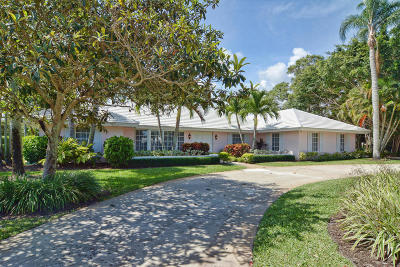Tequesta Single Family Home For Sale: 38 Tortoise Lane