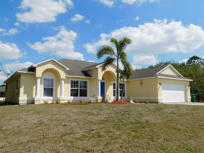 Port Saint Lucie FL Single Family Home Closed: $229,500