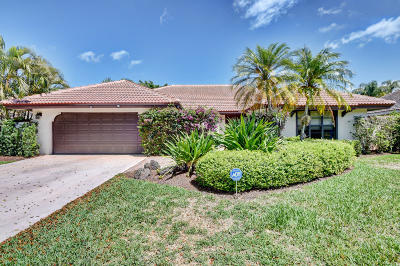 Boca Raton Single Family Home For Sale: 7587 London Lane