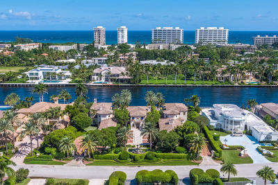 Boca Raton Single Family Home Sold: 1900 Royal Palm Way