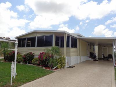 Boynton Beach FL Mobile Home For Sale: $99,900