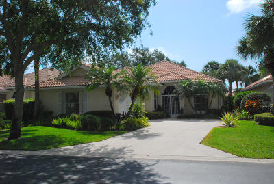Palm Beach Gardens Single Family Home For Sale: 106 Winter Club Court
