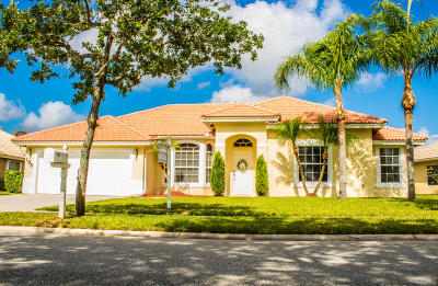 West Palm Beach Single Family Home For Sale: 195 Cypress Trace