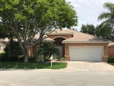 Delray Beach Single Family Home For Sale: 7407 Viale Angelo