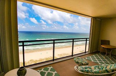 Boca Raton Condo Sold: 2000 S Ocean Boulevard #Ph-E
