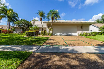 Boca Raton Single Family Home For Sale: 2134 NW 19th Way