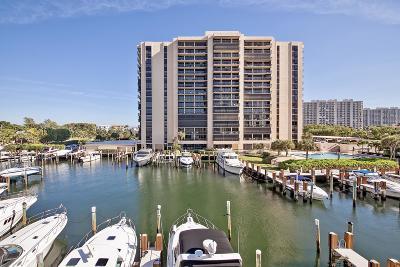 Highland Beach Condo Sold: 4748 S Ocean Boulevard #806