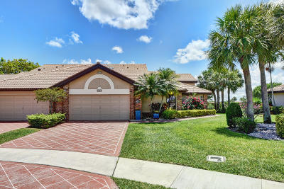 Boynton Beach Single Family Home For Sale: 8231 Cassia Drive