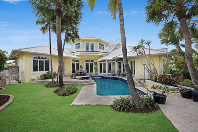 Jupiter Inlet Colony Single Family Home For Sale: 199 Shelter Lane