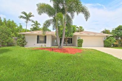 Boynton Beach Single Family Home For Sale: 2806 SW 4th Street