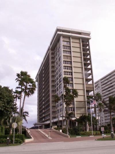 Cloister Del Mar Condo Condo For Sale: 1180 S Ocean Boulevard #15 D
