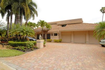 Boca Raton Single Family Home For Sale: 7355 Mahogany Bend Court