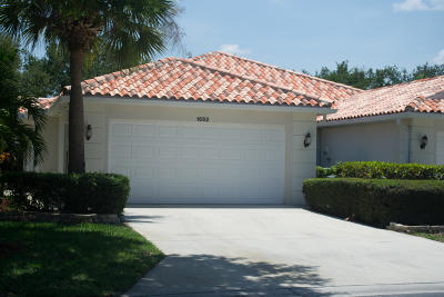 Palm City Single Family Home Contingent: 1692 SW Shady Lake Terrace