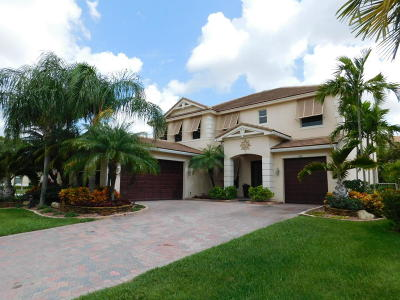 Royal Palm Beach Single Family Home For Sale: 424 Saint Emma Drive