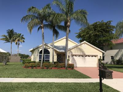 Boca Raton Single Family Home Contingent: 10696 Plainview Circle