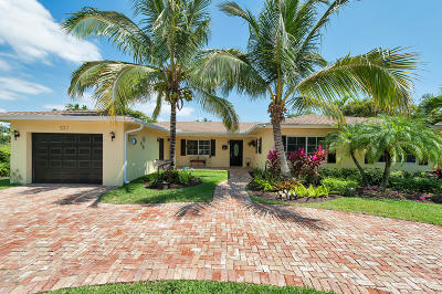 Delray Beach Single Family Home For Sale: 221 NW 18th Street