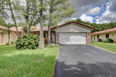 Coral Springs Single Family Home For Sale: 1862 NW 93rd Terrace