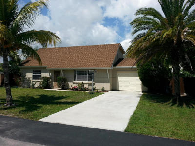 Jupiter Single Family Home For Sale: 406 S Loxahatchee Drive