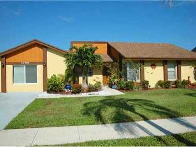 Boynton Beach Single Family Home For Sale: 1127 NW 9th Street