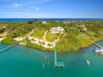 Hobe Sound Single Family Home For Sale: 512 S Beach Road