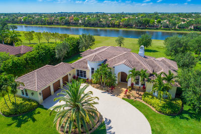 Lake Worth Single Family Home For Sale: 8880 S Kendale Circle