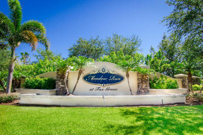Palm City Single Family Home For Sale: 4255 SW Stoneybrook Way