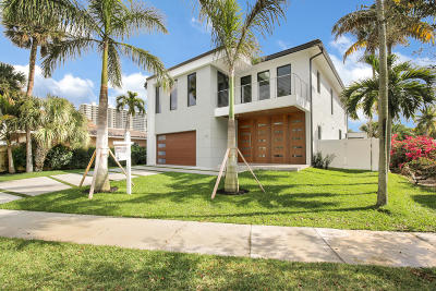 Broward County, Palm Beach County Single Family Home For Sale: 840 E Park Drive