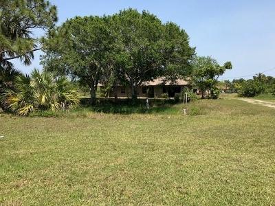 Vero Beach Single Family Home For Sale: 4720 58th Avenue
