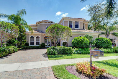 Palm Beach Gardens Single Family Home For Sale: 110 Dalena Way