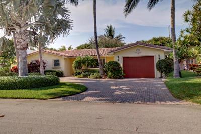 Palm Beach Shores Single Family Home For Sale: 129 Linda Lane