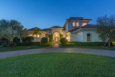 Wellington Single Family Home For Sale: 14471 Equestrian Way