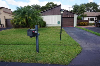 Boynton Beach FL Single Family Home For Sale: $157,000