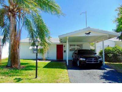 Pompano Beach Single Family Home Contingent: 230 NW 24 Court