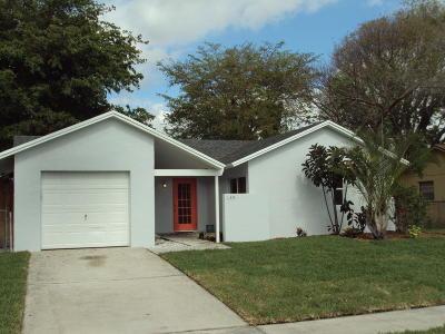 Royal Palm Beach Single Family Home Contingent: 1099 Harmony Way