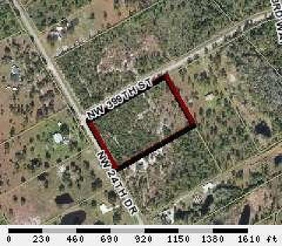 Residential Lots & Land Sold: 2690 NW 399th Street